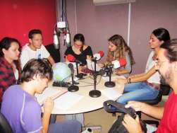"Taller de d'iniciació a la ràdio ""on air�"